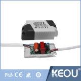 3pouce 5pouce 7pouce panneau LED 10pouce AC100-240V en bois blanc argenté