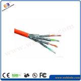 S/FTP abgeschirmtes twisted- pairinstallations-Kabel der Katze-7, Kabel des Netz-23AWG
