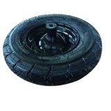 Rotella pneumatica di gomma grandi largamente 6.50-8 resistenti per la carriola