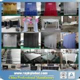 Idéias portáteis de alumínio da cabine da tubulação do casamento e da feira profissional de Drapehardware