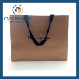 Brown Luxury Model Clothes Packing Bag con Logo (CMG-MAY-025)