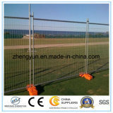 La construcción utilizó la cerca temporal estándar de Australia/la cerca soldada del acoplamiento de alambre