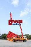 構築の具体的なセメントブームポンプトラック経験の工場価格を製造する20年