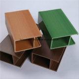 Decorações interiores 40x25mm madeira teto composto de plástico