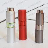 Vaciar el atomizador de cristal de aluminio recargable del perfume de la torcedura (PPC-AT-1719)