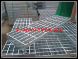 China Hebei Anping Heavy Duty Steel Grating-Galvanized Steel Grating Stair Treads