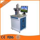De Machine van de Gravure van de Laser van Co2 op Leer/Fles