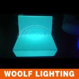 Sofá plástico leve do diodo emissor de luz do projeto novo moderno