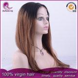 Remy humanos brasileiros indiano cabelos virgens 360 Rendas Peruca