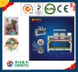 Wonyo 2 Kopf-Schutzkappen-Stickerei-Maschine für Stickerei 3D