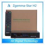이탈리아 최신 판매 Zgemma 별 H2 인공 위성 수신 장치 리눅스 OS E2 DVB-S2+T2/C 쌍둥이 조율사