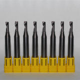 Herramienta de corte de carburo de tungsteno de la sola flauta de Aluminio / Madera de Trabajo