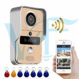Audio de largo alcance Doorphone WiFi Remote Video Portero Rainproof impermeable de Intercomunicación de Campana de la puerta de la Cámara de timbre Timbre inalámbrico WiFi timbre inteligente VF-dB04