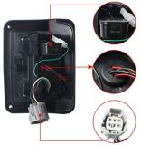 Jeep Wrangler задние светодиодные индикаторы, Jeep Wrangler Светодиодные задние фонари, Jeep Стоп, светодиодный индикатор Jeep фонари заднего хода, Jk Jku 07 - 16