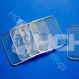 Hchは化学抵抗の和らげられた紫外線Nir光学ガラスのサファイアWindowsをカスタマイズした