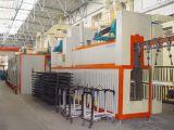Línea de pintura automática Horno Sistema de Pintura en polvo de avión de línea de pintura