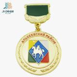 Medaglia superiore del distintivo del ricordo dell'oro dello smalto del pezzo fuso di vendita per Veitnam