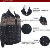"""Дамы"""" Як Cardiganlong втулку трикотажные пуловер с молнией"""