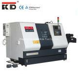기우는 침대 선반 기계 CNC Kdcl-15