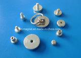 Плоские Pot магнитов с отверстием