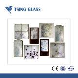 Geschilderd decoratief/de Serigrafie drukte het Geharde/Glas van de Druk van 312mm af