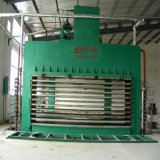 Furnierholz, das Maschine mehrschichtigen Vorstand heiße Presse auf Holzbasis Panel-Herstellungs-Maschinerie maschinell bearbeiten lässt