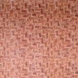 Tapis de paille Petate panier Sac en cuir artificiel de Texture PVC