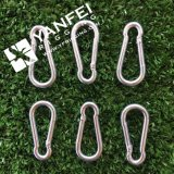 Крюк металла SS304/316 DIN 5299 щелчковый для располагаться лагерем и безопасности