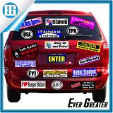 Different su ordinazione Pattern e Color Vinyl Car Body Sticker