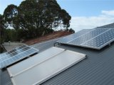 Sistema Griglia-Legato solare del tetto del supporto del sistema registrabile del comitato solare