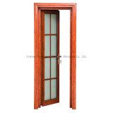 Хорошее качество двойной слой стекла передней двери дверная рама перемещена Aluminums (фут-D80)