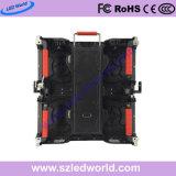 P3.91/P4.81 /P5.95/P6.25 500X500 mm 또는 500X1000 mm Die-Casting 내각을%s 가진 단계 성과를 위한 실내 옥외 임대료 발광 다이오드 표시 패널판