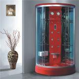 Fabricante inferior de China de la bandeja de la cabina en línea redonda de la ducha