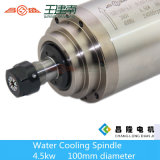 Asse di rotazione raffreddato ad acqua rotondo di CNC di Changsheng 4.5kw 24000rpm 10/13A in serie di Gdz