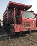 Hova鉱山のダンプトラックのダンプカートラック