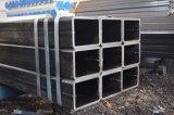 ASTM A500 geschweißtes schwarzes Quadrat und rechteckiges hohles Kapitel-Gefäß