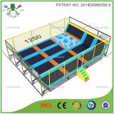 Rectângulo trampolim com gabinete (3021G)