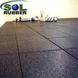 Pavimentazione antisdrucciolevole resistente di ginnastica