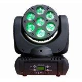 7X12 Вт Лампа Osram RGBW LED Wash перемещения передних фар