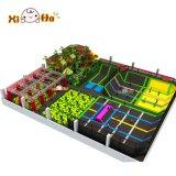 Parque quente do Trampoline da venda com o campo de jogos para o centro do jogo