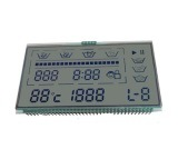 Pantalla LCD de color de caracteres de segmentos Dstn