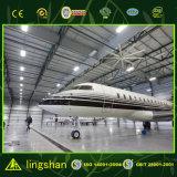 A construção de aço do projeto do fabricante de China verte hangar pré-fabricado do metal