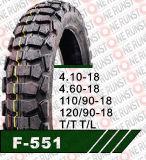 Hoher Gummiinhalt zerteilt inneres Gefäß-Motorrad-Gummireifen für Verkauf 410-18 460-18 110/90-18 120/90-18
