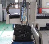 Láser de fibra de la máquina de corte de metales para la placa y el tubo