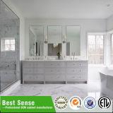 Module de salle de bains à extrémité élevé en bois solide d'art grand