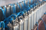 Angeschaltener Bewässerung-Wasser-Pumpen-Solarwasser-Pumpen-Solarhersteller
