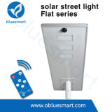 Bluesmart 100W tout dans un réverbère solaire d'alliage d'aluminium