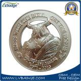 Dos laterales personalizados Souvenir de regalo de promoción de la moneda
