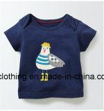 Il cotone del manicotto di Short di estate dei ragazzi ha reso a bambini della maglietta i vestiti