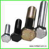 DIN 933 Gr. 8.8 Aço inoxidável de parafuso pesado